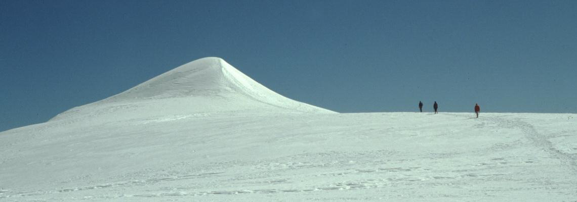 Sul Monte Rosa, corso di alta montagna